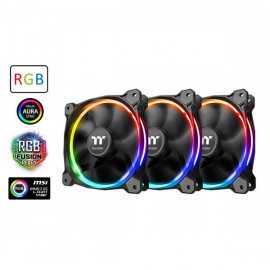 Thermaltake Riing 12 LED RGB Sync Edition (Pack de 3)