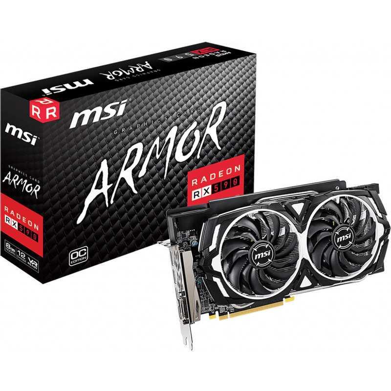 MSI Radeon RX 590 ARMOR 8G OC