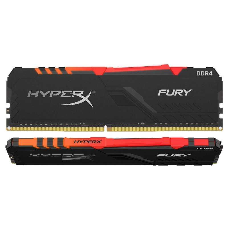 HyperX Fury RGB 16 Go (2x 8 Go) DDR4 3000 MHz CL15