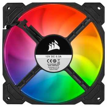 Corsair SP120 RGB PRO (x3) et Ligthing Node CORE
