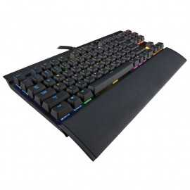 Corsair Gaming K65 RGB LED AZERTY Noir - Switches Cherry MX Red